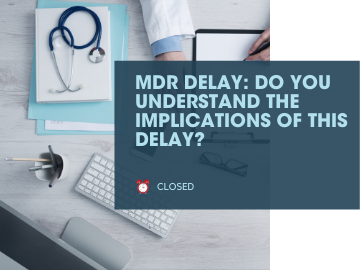 MDR DELAY: Do you understand the implications of this delay?